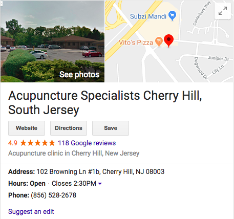 Acupuncture For Fertility South Jersey